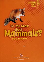 Cover of: Do you know about Mammals?