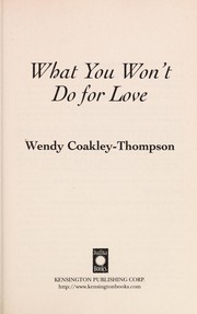 Cover of: What you won