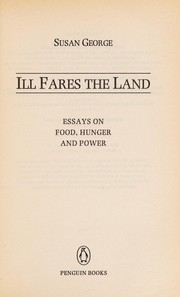 Cover of: Ill fares the land | Susan George