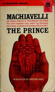 Cover of: Principe