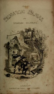 Cover of: The posthumous papers of the Pickwick Club | Charles Dickens