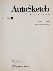 Cover of: AutoSketch for Windows Release 2