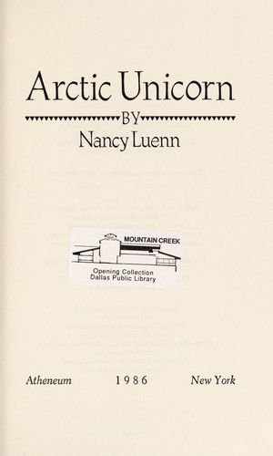 Arctic unicorn by Nancy Luenn