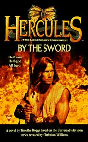 Cover of: Hercules: legendary journeys | Timothy Boggs