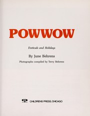 Cover of: Powwow