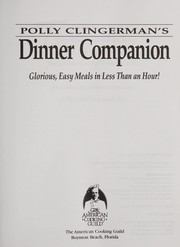Cover of: Polly Clingerman's dinner companion