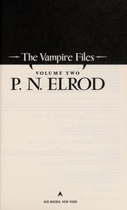 Cover of: The vampire files