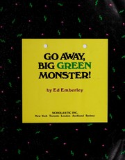 Cover of: Go away, big green monster! | Ed Emberley