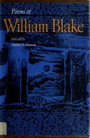 Poems by William Blake, Geoffrey Moore