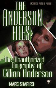 Cover of: The Anderson files | Marc Shapiro