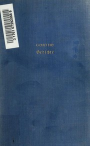 Gedichte Translation Poems Open Library