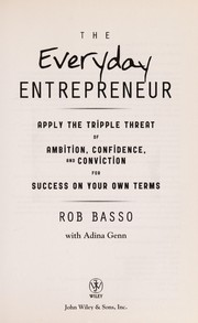 Cover of: The everyday entrepreneur