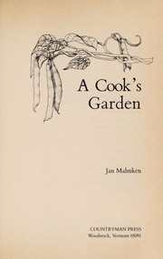 Cover of: A cook