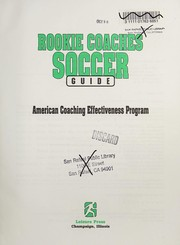 Cover of: Rookie coaches soccer guide