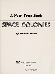 Cover of: Space colonies