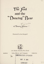 Cover of: The fool and the dancing bear | Pamela Stearns