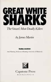 Cover of: Great white sharks | James Martin