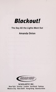 Cover of: Blackout! the Day the Lights Went Out