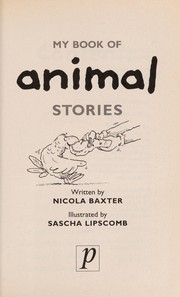 Cover of: My Book of Animal Stories |