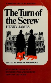 The Turn of the Screw by Henry James Jr.