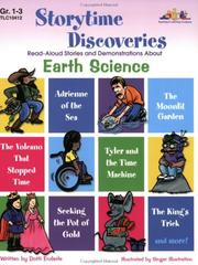 Cover of: Storytime Discoveries: Earth Science: Read-Aloud Stories and Demonstrations