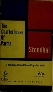 Cover of: The charterhouse of Parma | Stendhal