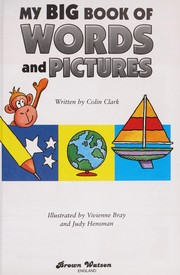Cover of: My big book of words and pictures | Colin Clark