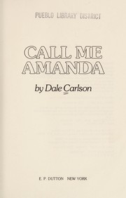 Cover of: Call me Amanda
