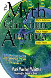 Cover of: The myth of Christian America