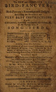 Cover of: The new and complete bird-fancyer, or, Bird-fancyer