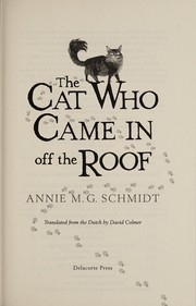 Cover of: The cat who came in off the roof