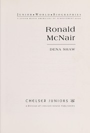 Cover of: Ronald McNair | Dena Shaw
