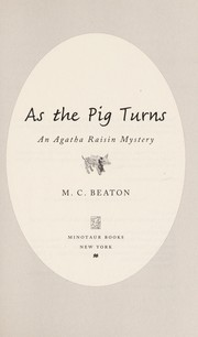 Cover of: As the pig turns