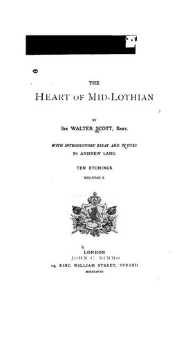 The Heart of Mid-Lothian (1893 edition)   Open Library