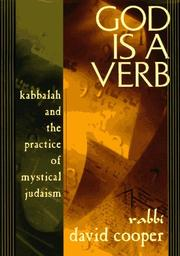 Cover of: God is a verb | David A. Cooper