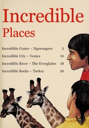 Cover of: Incredible Places |