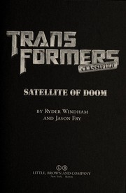 Cover of: Satellite of doom | Ryder Windham