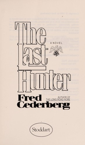 The Last Hunter by Cederberg Fred