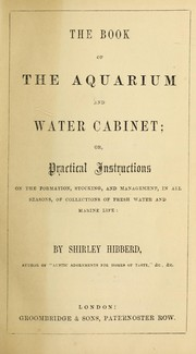 Cover of: The book of the aquarium and water cabinet | Shirley Hibberd