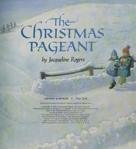 The Christmas pageant by Jacqueline Rogers