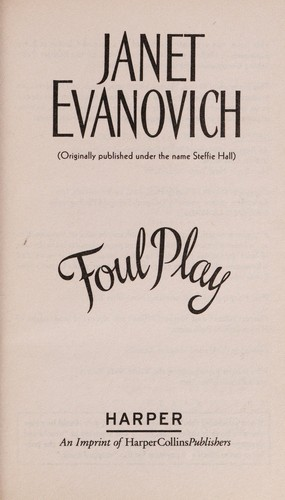 Foul play by Janet Evanovich
