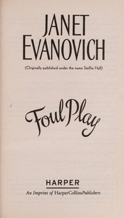 Cover of: Foul play | Janet Evanovich