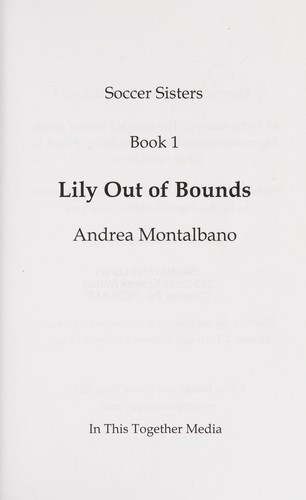 Lily out of bounds by Andrea Montalbano