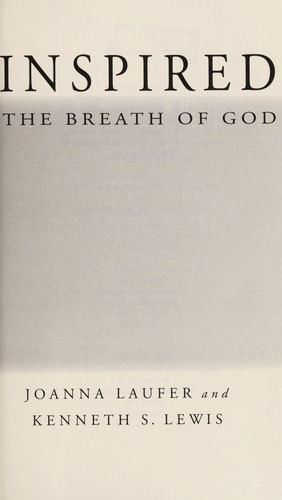 Inspired : the breath of God by