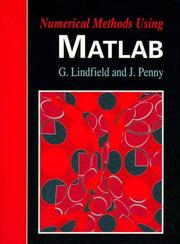 Cover of: Numerical methods using MATLAB