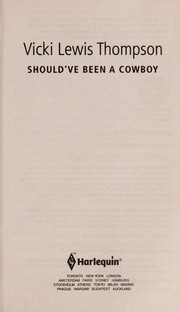 Cover of: Should've been a cowboy