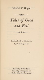 Cover of: Tales of good and evil