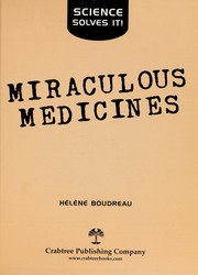 Cover of: Miraculous medicines