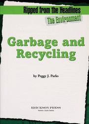 Cover of: Garbage and recycling