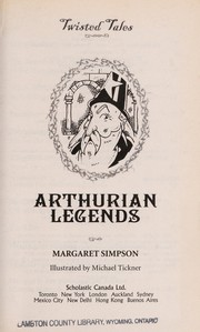 Cover of: Arthurian legends